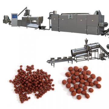 Stainless Steel Double Shaft Floating Fish Feed Extruder