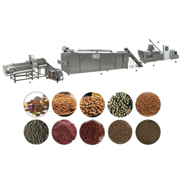 China Factory Manufacturer Dog Cat Fish Feed Processing Line Extruder