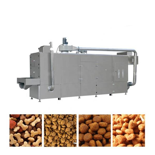 China Double Screw Extruder Floating Fish Feed Animal Feed Pellet Production Line